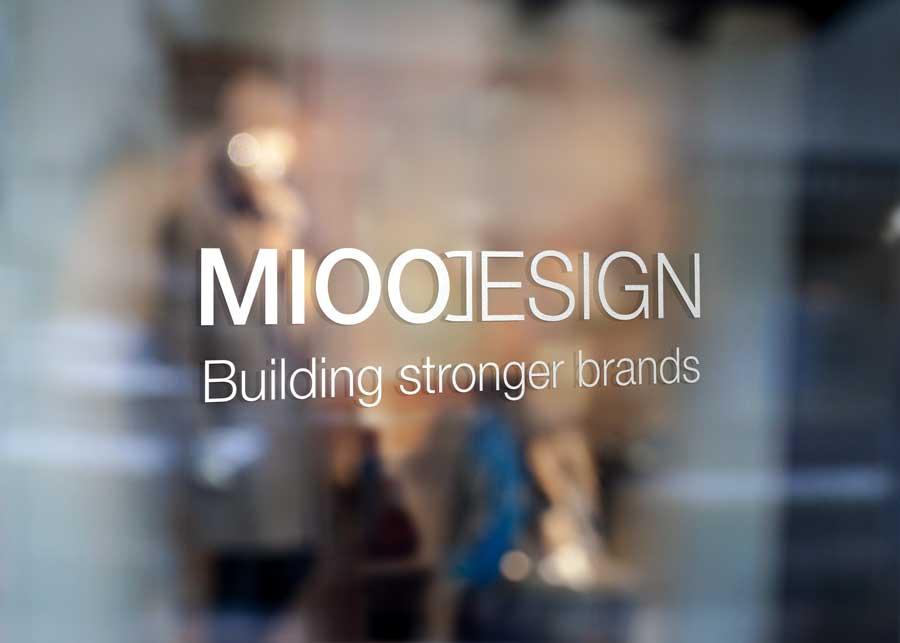 Reclamebureau Roeselare - Logo Mioo Design - West-Vlaanderen